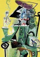 Picasso's Mousquetaire a la pipe