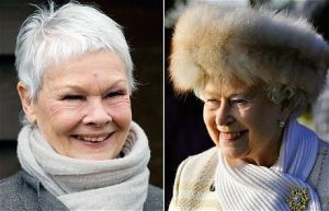 Judi Dench and The Queen